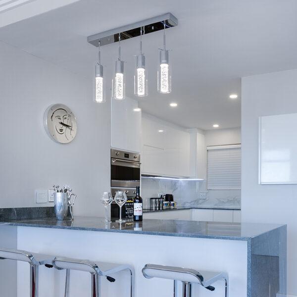 Belysning i køkkenet